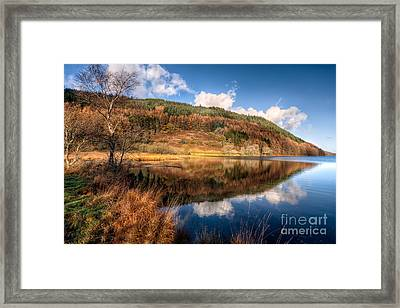Autumn In Wales Framed Print by Adrian Evans
