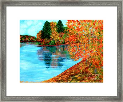 Autumn. Inspirations Collection. Framed Print