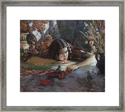 Autumn Framed Print by Korobkin Anatoly