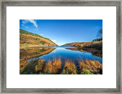 Autumn Lake Framed Print by Adrian Evans