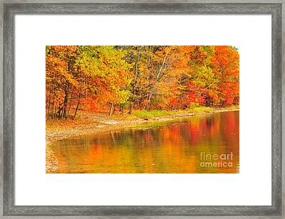 Framed Print featuring the photograph Fire Balls by Terri Gostola