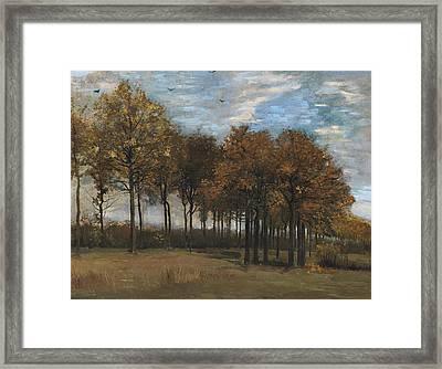 Autumn Landscape, C.1885 Framed Print