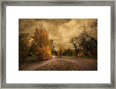 Autumn Landscape Framed Print by Svetlana Sewell