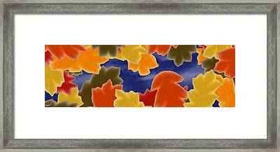 Autumn Leaves Framed Print by Gdw3
