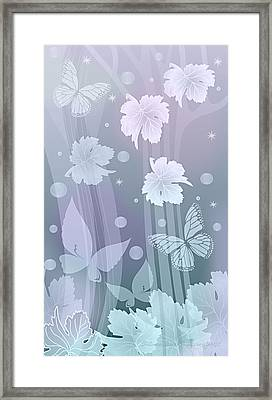 Autumn Leaves IIi Framed Print by Gayle Odsather