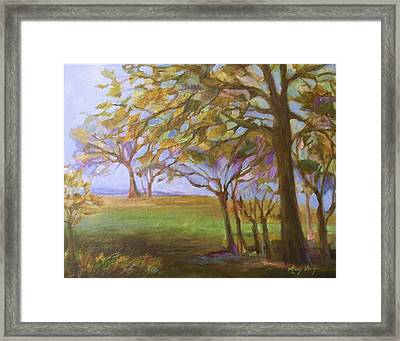 Autumn Leaves Framed Print