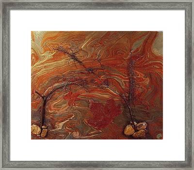 Autumn Leaves Framed Print by Patrick Mock