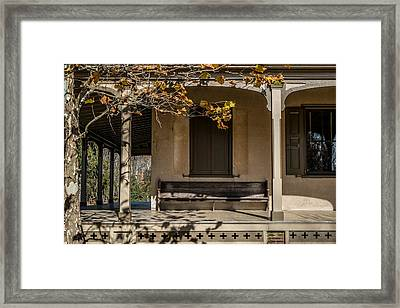 Autumn Leaving Framed Print