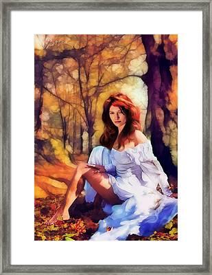 Autumn Framed Print by Marina Likholat