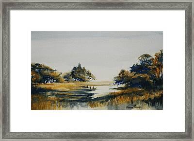 Autumn Marsh Framed Print