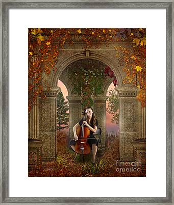 Autumn Melody Framed Print by Bedros Awak
