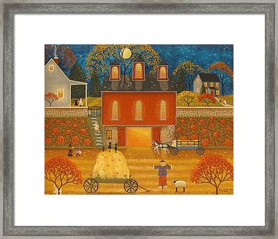 Fall Memories Framed Print by Mary Charles