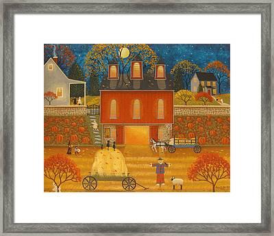 Fall Memories Framed Print