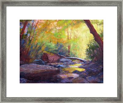 Autumn Memory Framed Print