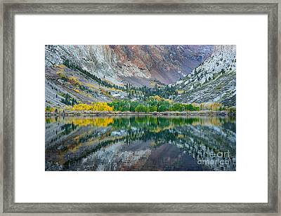 Autumn Mirror Framed Print