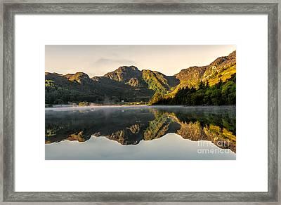 Autumn Mist  Framed Print by Adrian Evans