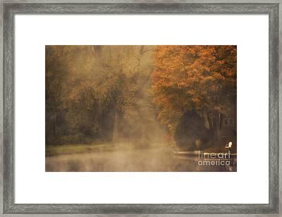 Autumn Mist Framed Print by Julie Palyswiat