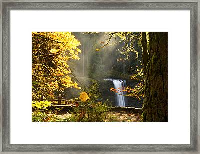 Autumn Mists Framed Print
