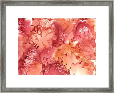 Autumn Monochrome Framed Print by Neela Pushparaj