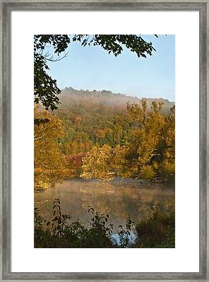 Autumn Morning In Coventry Framed Print