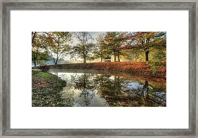 Autumn Morning Framed Print by Jaki Miller