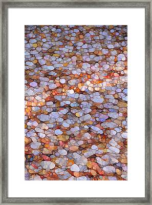 Autumn Mosaic Framed Print by Dan Sproul