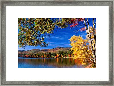 Autumn Mt Chocorua Nh Framed Print