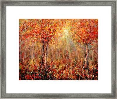 Autumn Framed Print by Natalie Holland