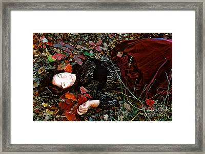 Autumn Ofelia Framed Print by Maja Sokolowska