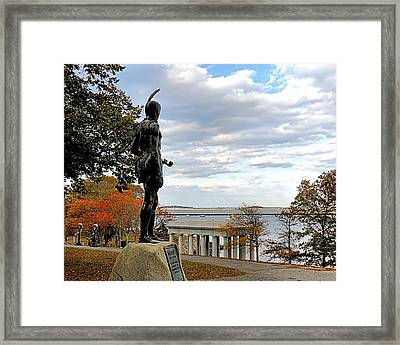 Autumn On Coles Hill Framed Print