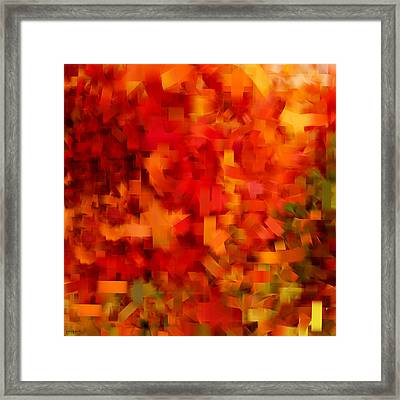 Autumn On My Mind Framed Print