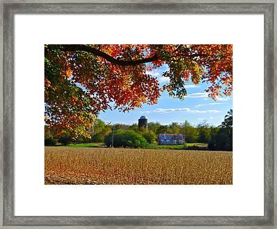Autumn On The Farm Framed Print