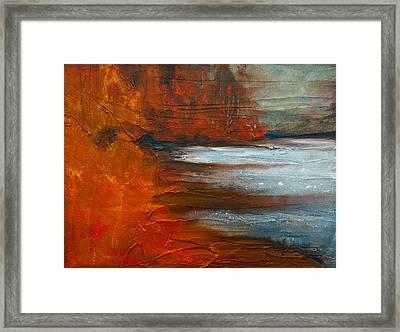 Autumn On The Sound Framed Print by Jani Freimann