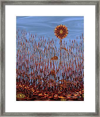 Autumn On Venus Framed Print