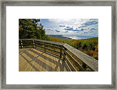 Autumn Overlook Framed Print