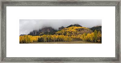 Autumn Panoramic Framed Print