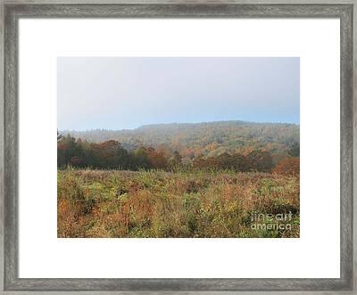 Autumn Pasture Framed Print by Linda Marcille
