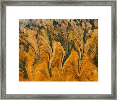 Autumn Pixies Framed Print by Dan Sproul