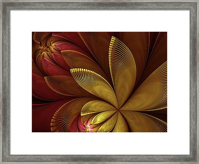 Autumn Plant Framed Print
