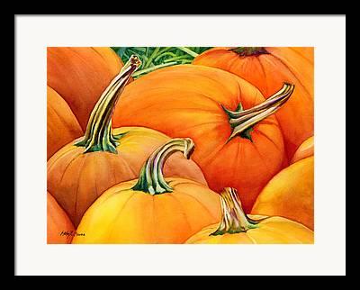 Harvest Deco Paintings Framed Prints
