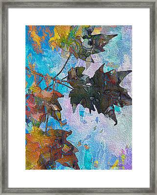 Autumn Quilt Framed Print