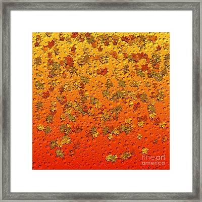 Autumn Rain Framed Print