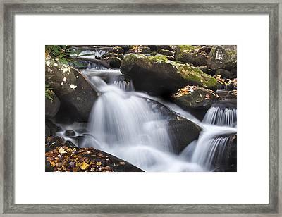 Autumn Rapids Framed Print by Andrew Soundarajan