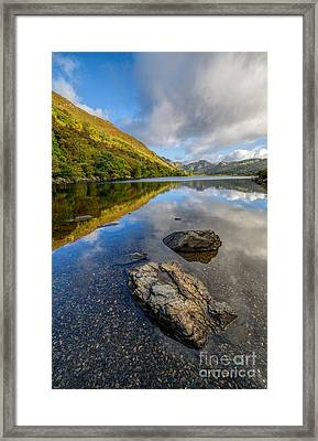 Autumn Reflection Framed Print by Adrian Evans