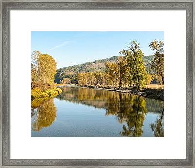 Autumn Reflections 2 Framed Print by Curtis Stein