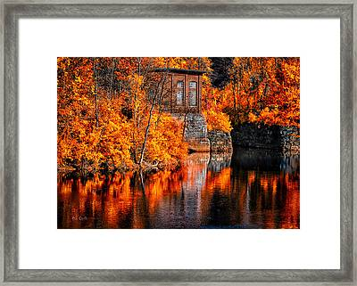 Autumn Reflections  Framed Print by Bob Orsillo