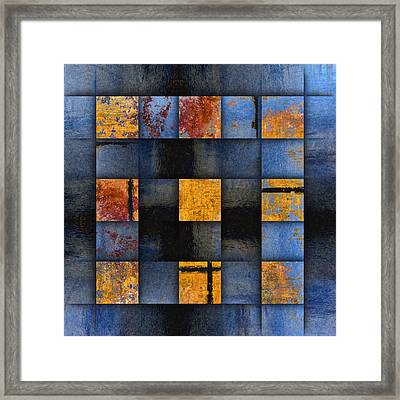 Autumn Reflections Framed Print by Carol Leigh