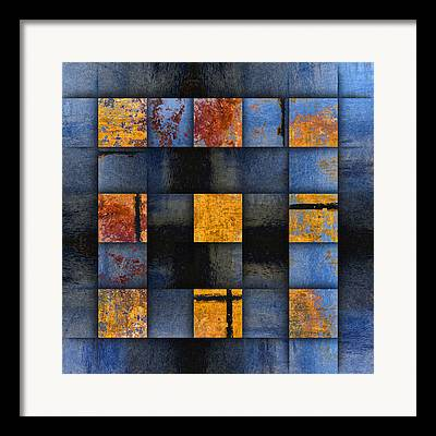 Abstract Geometric Framed Prints