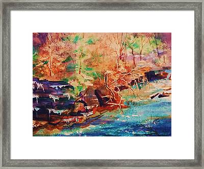Autumn Reverie Framed Print by Ellen Levinson