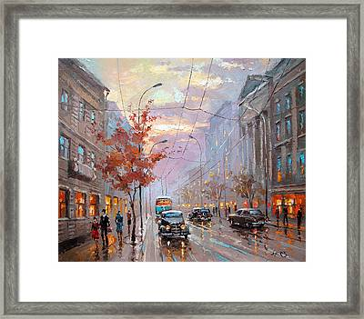 Autumn Rhapsody Framed Print by Dmitry Spiros
